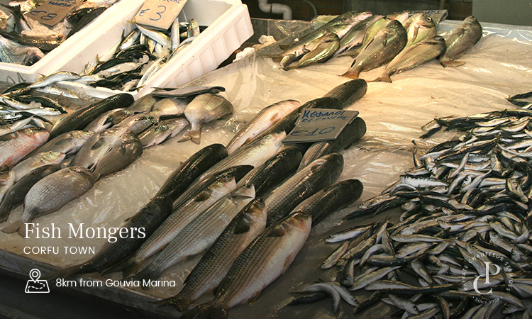 Fresh Fish delivery for Super Yachts in Corfu