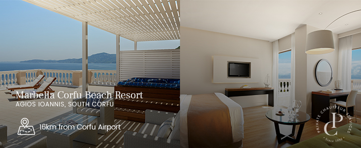Corfu VIP transfers to Marbella hotel