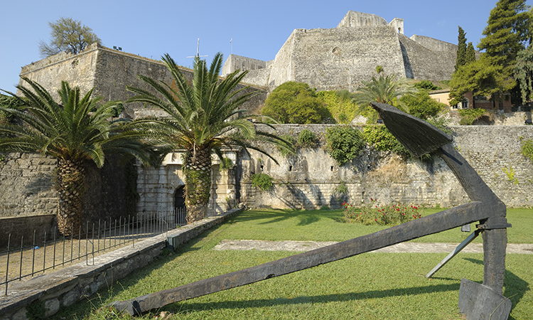 New Fortress in Corfu Town