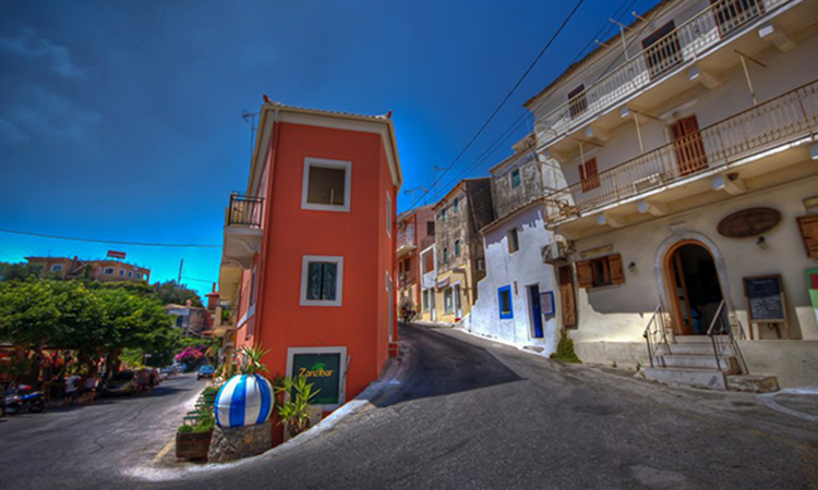 Traditional Village in Corfu